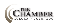 The Chamber of Commerce, Aurora CO logo